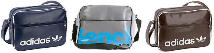 Stylische adidas & Bench Taschen