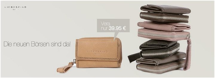 Neue Geldbörsen von Liebeskind Berlin eingetroffen !!!