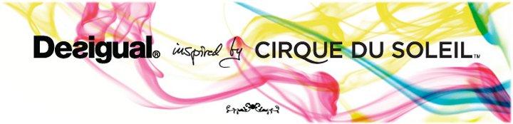 desigual inspired by Cirque du Soleil