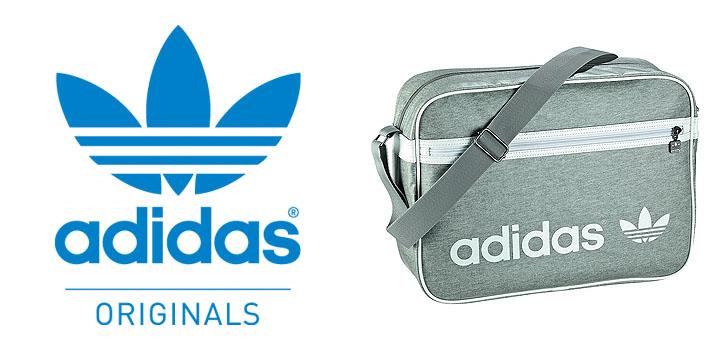 adidas Adicolor Airliner Tasche grau uts blog