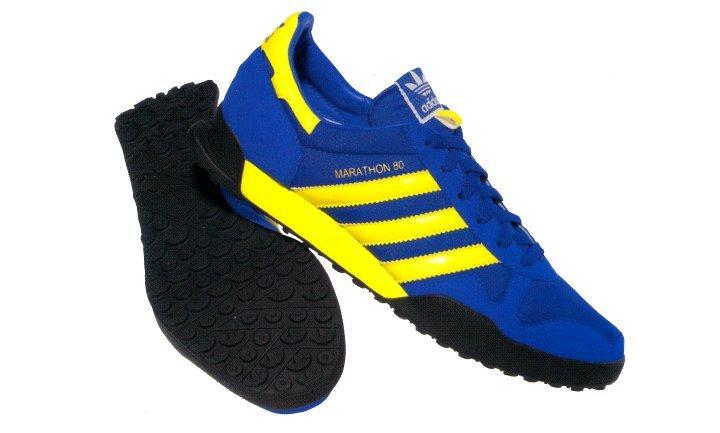 adidas Marathon 80 blau-gelb
