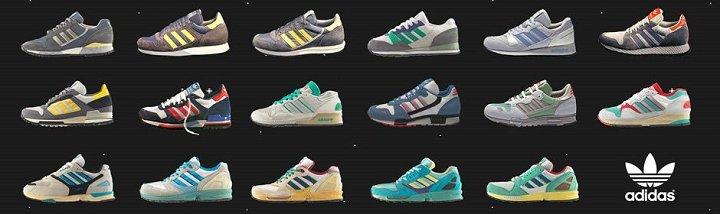 adidas zx family