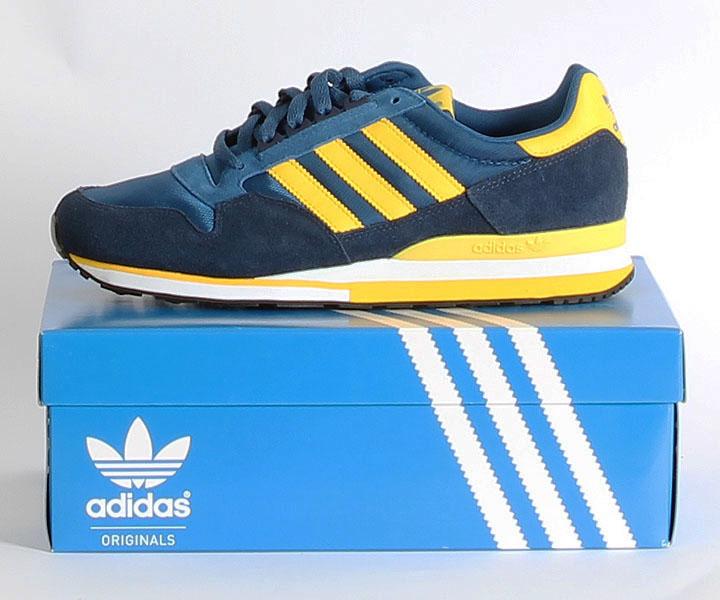 a12a1e709d41f6 adidas ZX 500 in lone blue dark indigo sun (blau gelb) - uts    blog