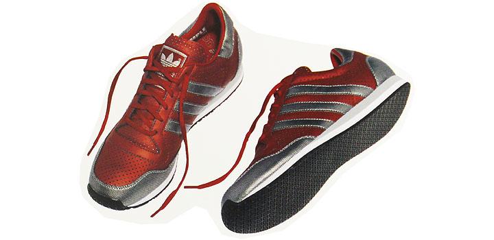 adidas Galaxy red-silver