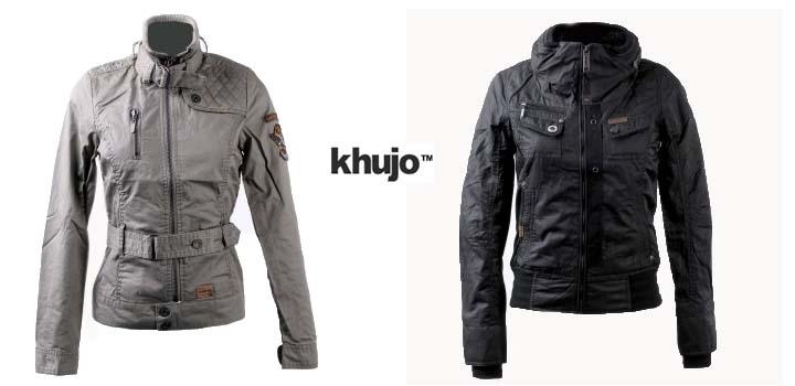 Khujo jacke schwarz