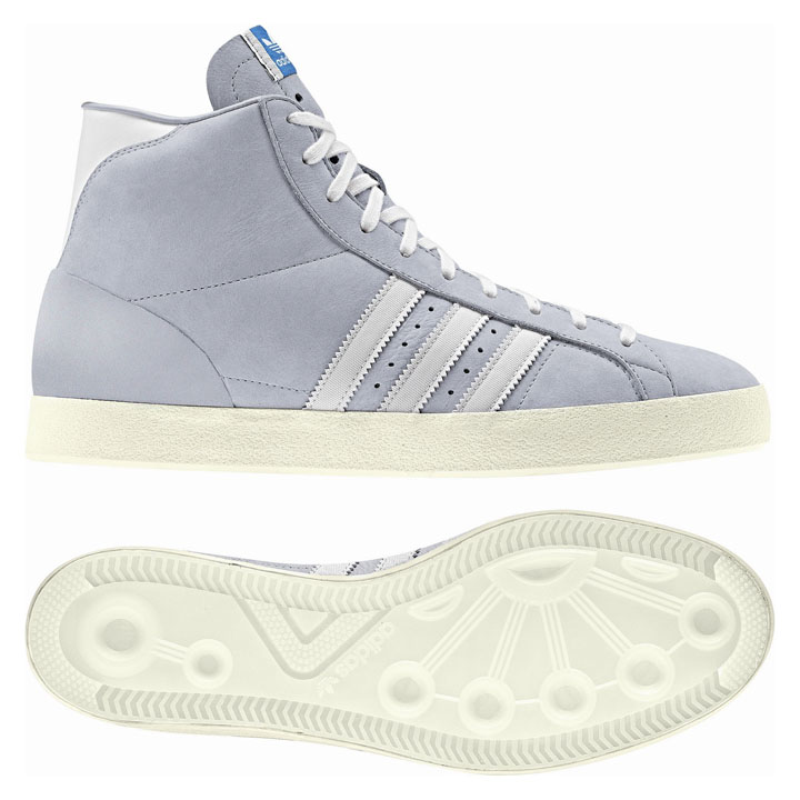 adidas Basketball Profi in grau, coming soon…