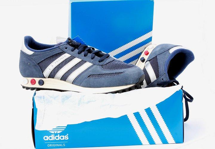 Adidas La Trainer Rot Blau Weiss