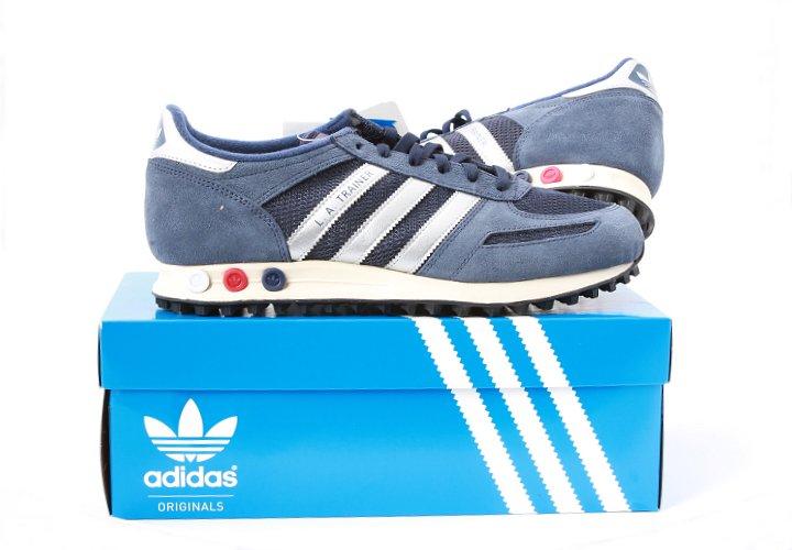 Adidas La Trainer Schuhe Blau buc it