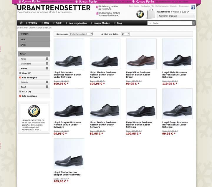 Weihnachts Angebot Lloyd Herren Schuhe