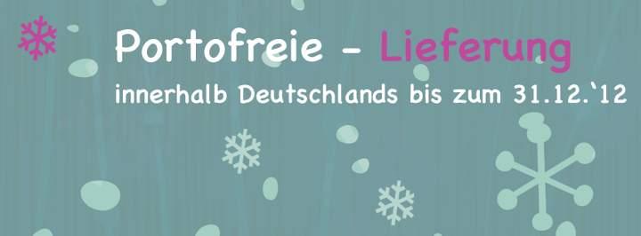 Jetzt Portofrei bis zum 31.12.2012 einkaufen !!!