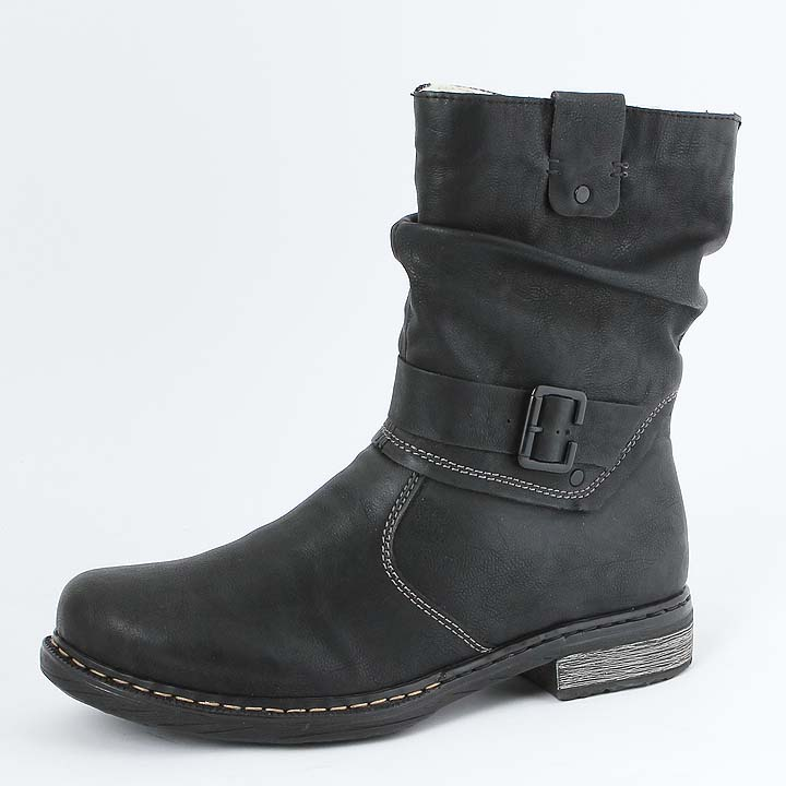 Rieker Y8054 Damen Langschaft Stiefel