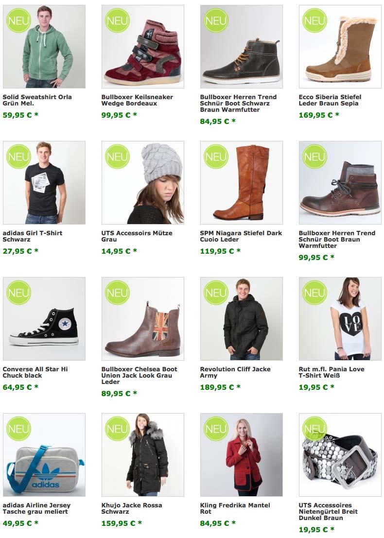 Mode-News Herbst 2012 Schuhe & Textilien