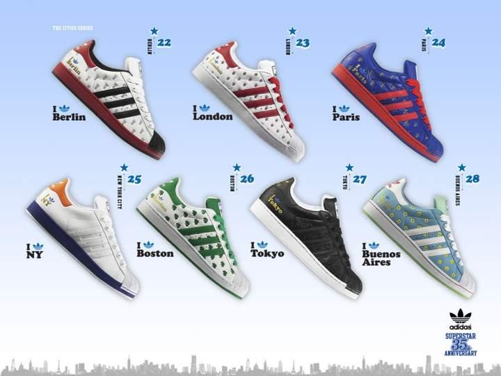 adidas superstar 35th anniversary new york
