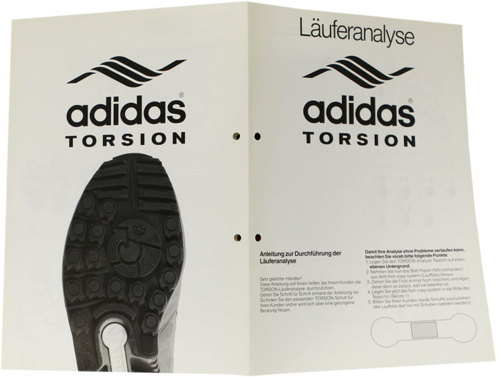 adidas Torsion Läuferanalyse