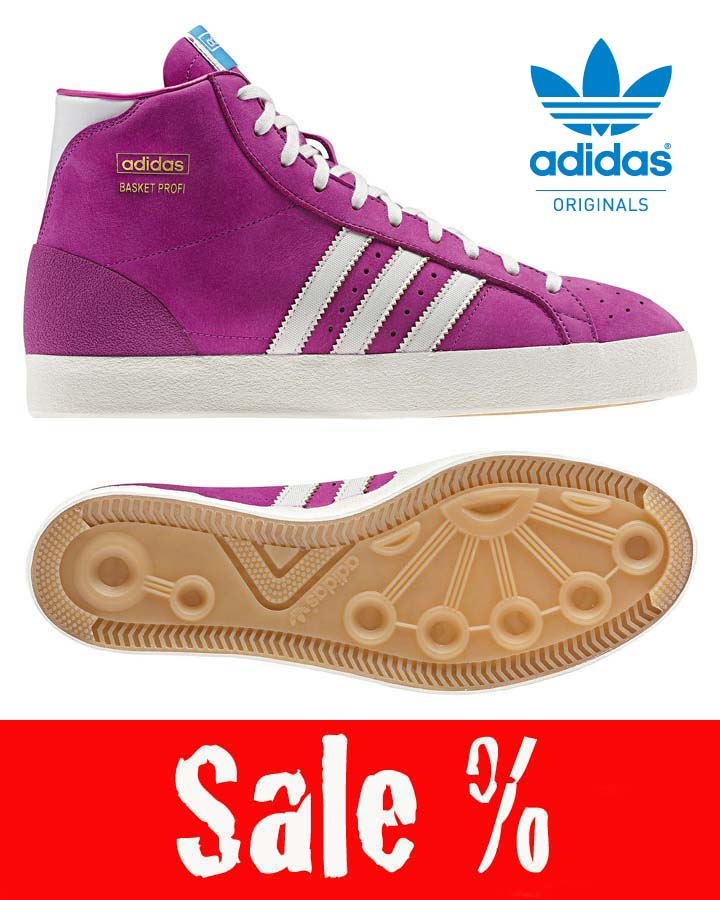 adidas Basket Profi Sale Pink Q23188