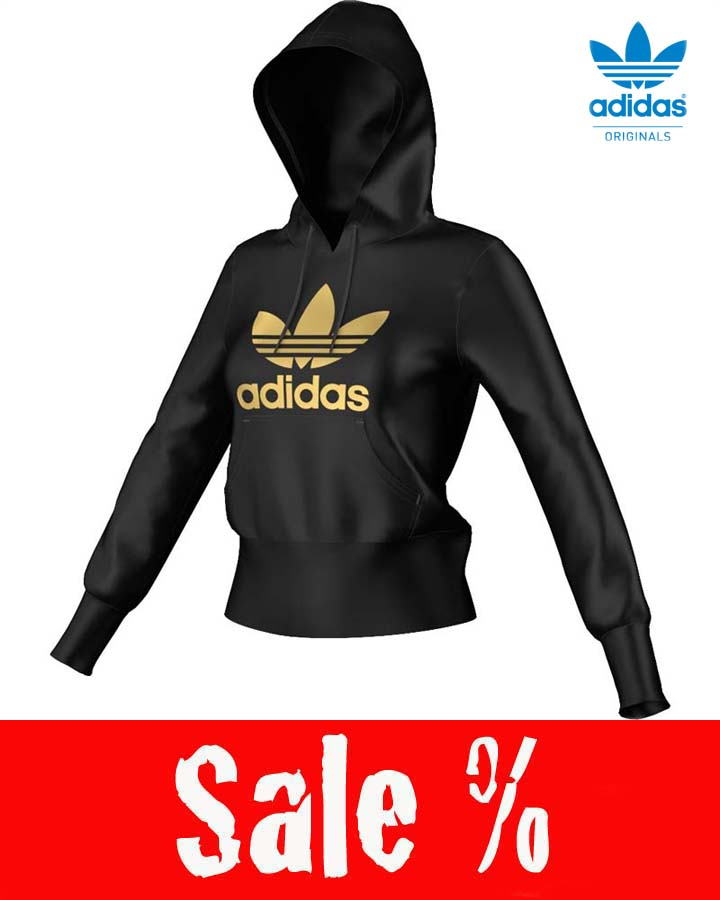 Adidas Schwarz Gold Damen