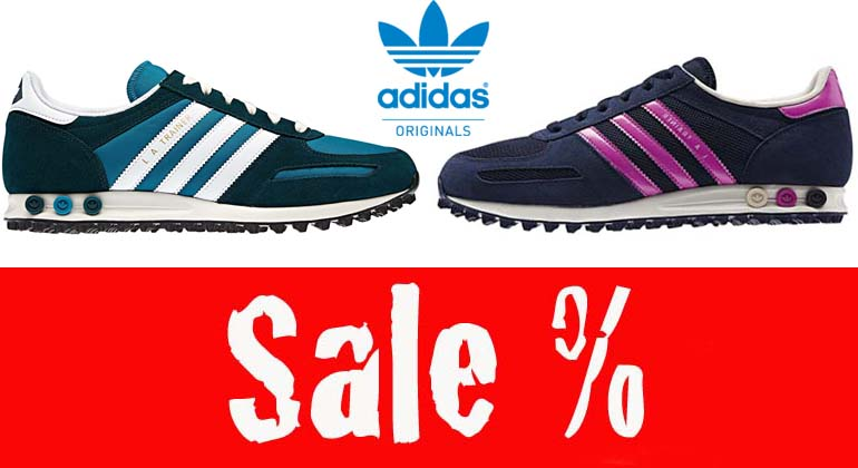 Adidas La Trainer Blau Pink buc it