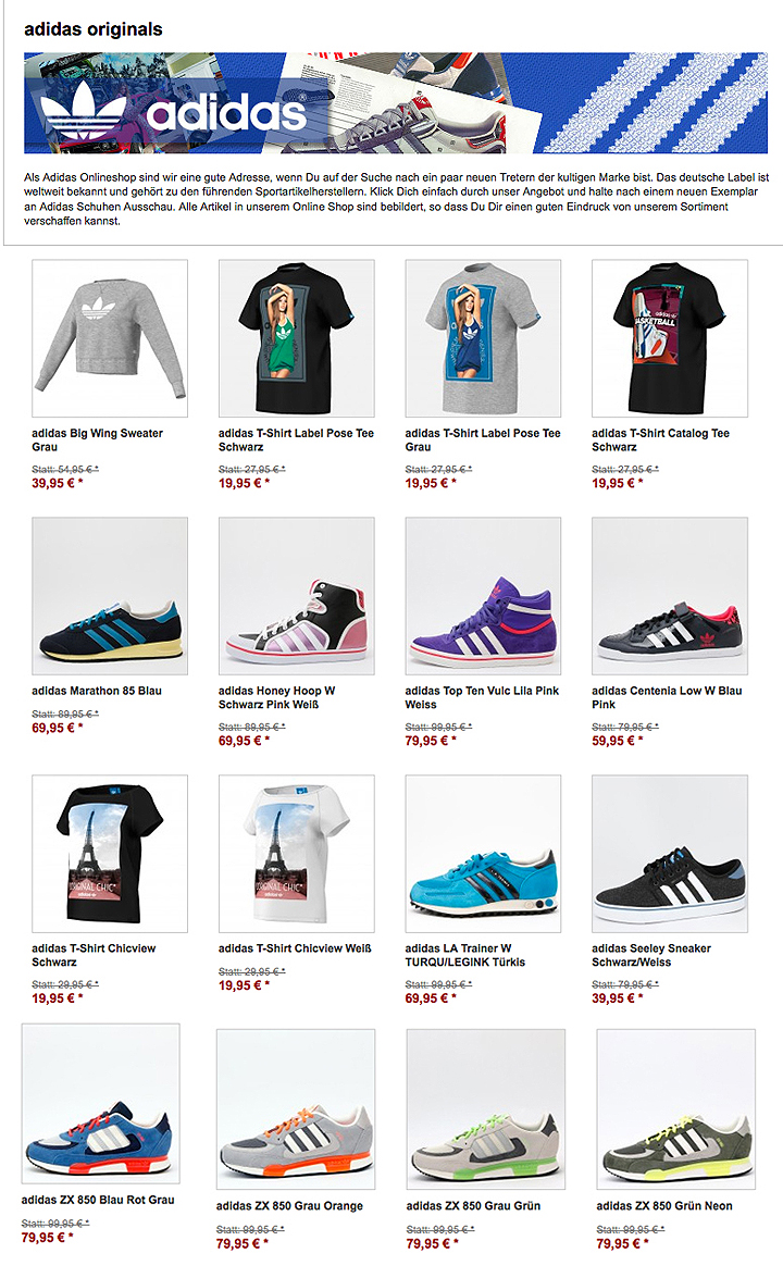 adidas Winter Sale