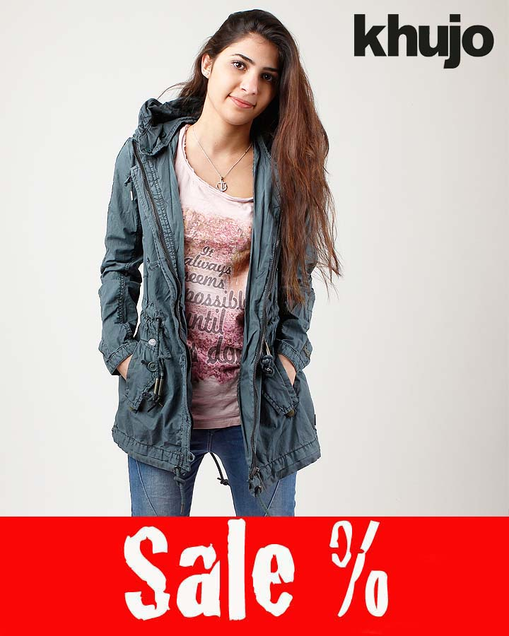 Khujo Inlia Übergangsjacke Bottle Green Sale