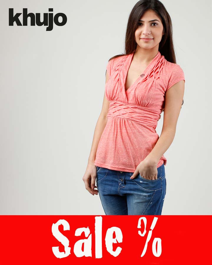 Khujo Shirt Mong Rose Pink Sale