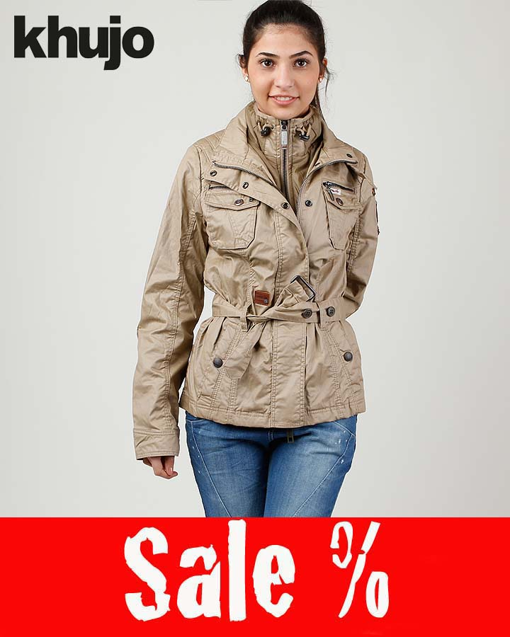 khujo Siren With Inner Damen Jacke Sand Sale