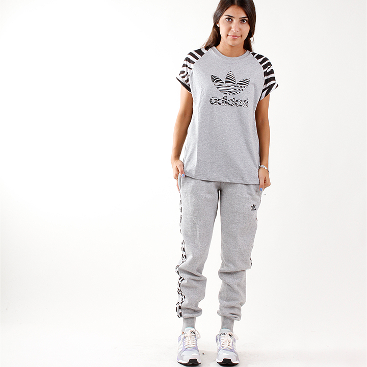 adidas Girly Trackpants Hose Grau M30507