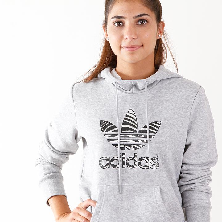 adidas Originals Trefoil Hoodie Grey M30447