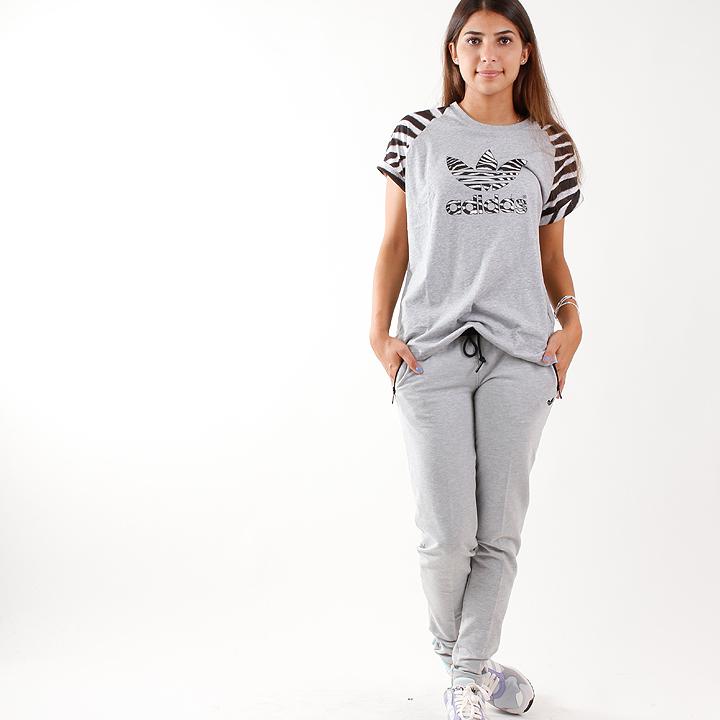 adidas Slim Fit Trainingshose Grau M69796
