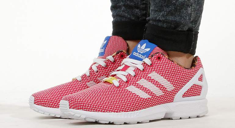 adidas ZX Flux Weave berry white M21366